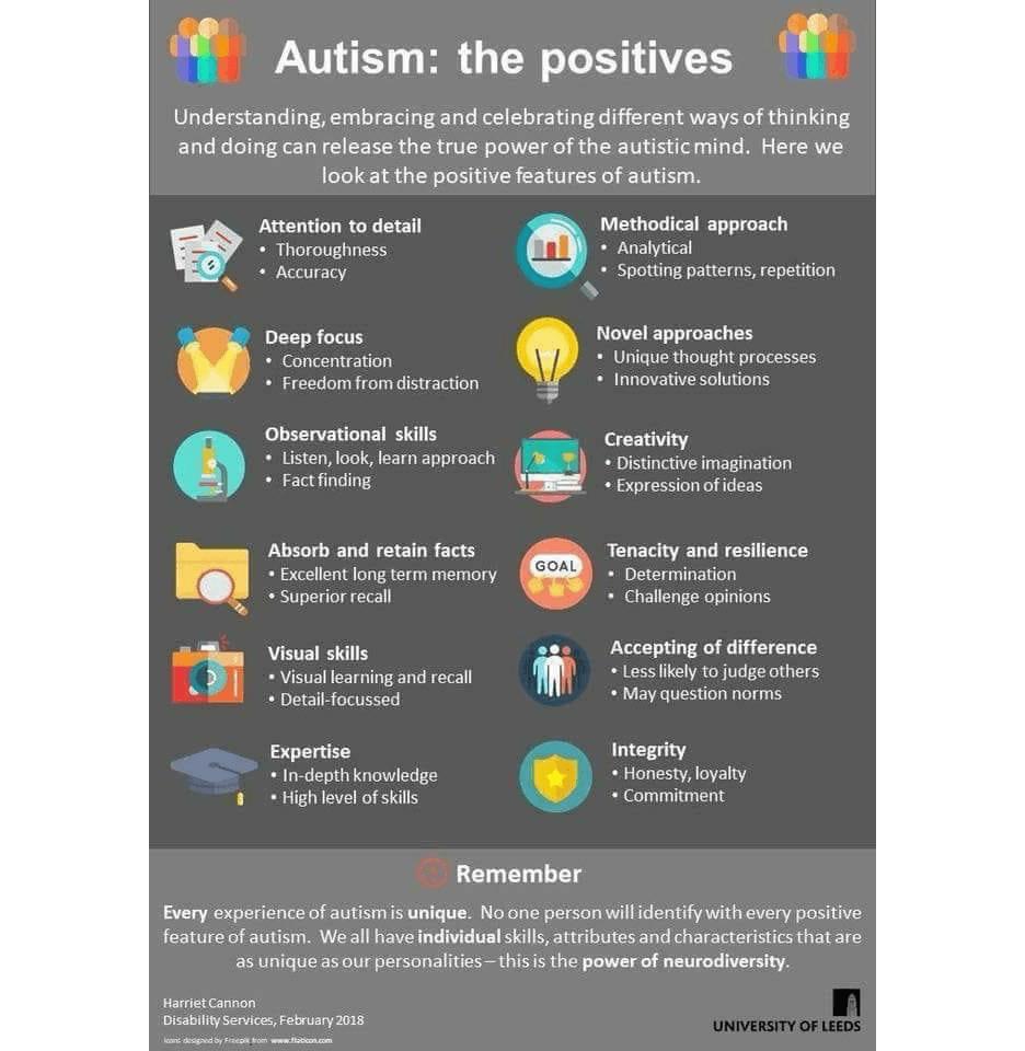 Autism the positives